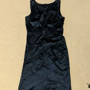 Maurice's Navy Blue fitted dress